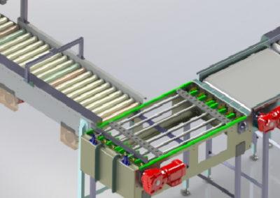 Carton Handling - Modular Brake belt & Modular Passive & Zero Pressure