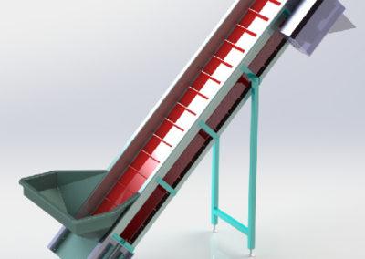 PVC belt Elevator